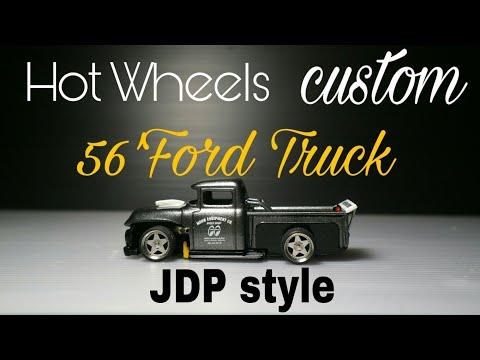 Hot Wheels Custom 56'Ford Truck F100 street , drift, or JDP style