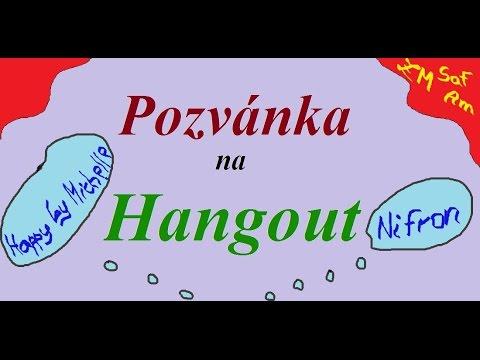 ZMSafAm // Pozvánka na Hangout