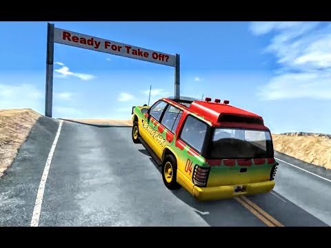 Amazing Car Wrecks & Realistic Crashes - BeamNG.Drive