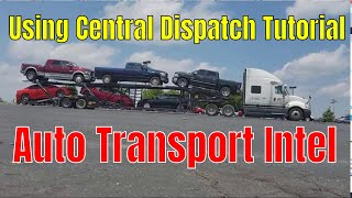 Car Hauling Dispatcher - Tips for using Central Dispatch Load Board