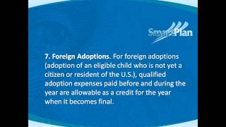 Top Ten Facts About Adoption Tax Benefits