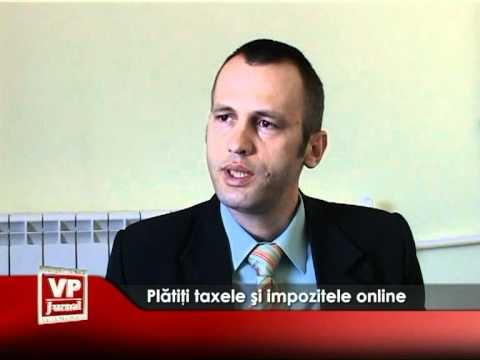 Plătiţi taxele şi impozitele online