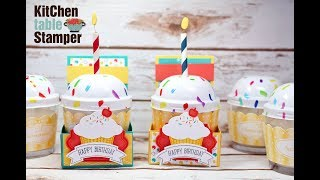 Sprinkles of Life Cupcake Candle Gift Card Holder Tutorial Facebook LIVE archive