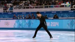 2014 Olympics Men SP 26 TEN Denis KAZ