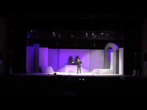 Hamlet play act. As Hamlet