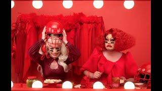 First Ever Superbowl Ad Featuring Drag Queens, Miz Cracker and Kim Chi