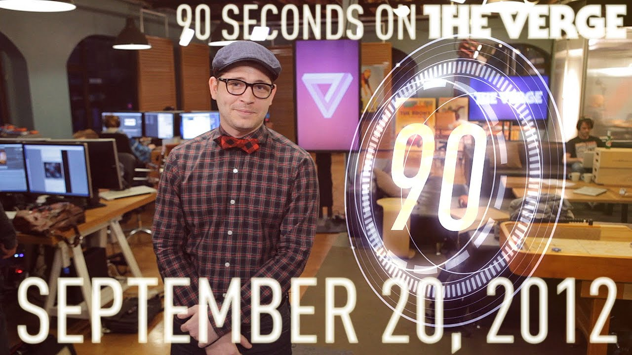 Apple's maps, Walmart vs. Amazon, and more - 90 Seconds on The Verge: Thursday, September 20, 2012 thumbnail