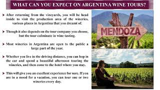 Enjoy a Reflection of Vineyard in your wine glasses: Choose Argentina Wine