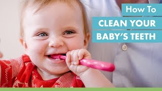 How to Clean Your Baby's Teeth