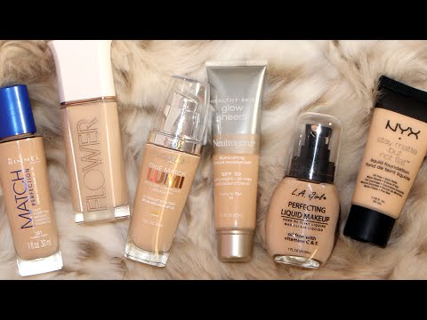 Frugal Fridayz | Best & Worst Drugstore Foundations