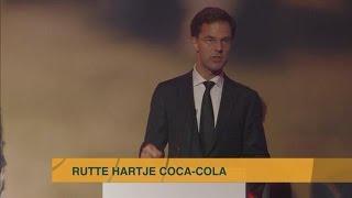 Rutte verslikt zich in Coca Cola - Z TODAY