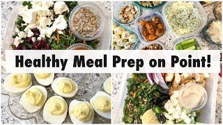 Healthy Meal Prep! // Chicken Bowls, Deviled Eggs, & Coleslaw // Keto & Low Carb Recipes