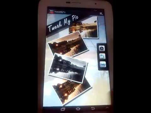 Video of Tweak My Pic.
