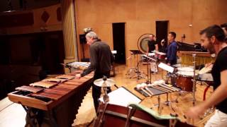 Suite Movements I & III by Emmanuel Séjourné featuring himself & PercuFest 2014 professors