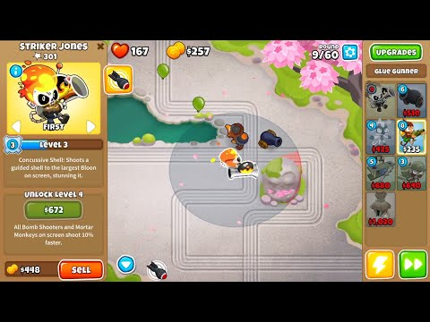 Bloons TD 6 - Daily Challenge: The forgotten towers /13. June\