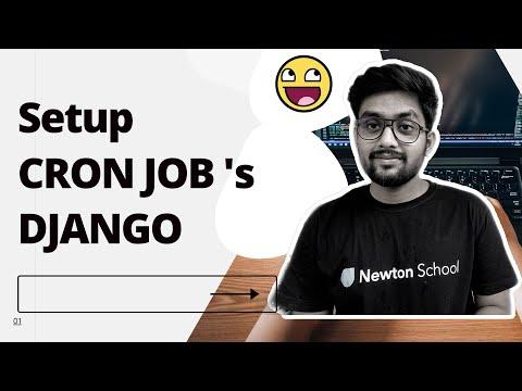 Cron job Django |  Django cron job tutorial | Django cron job example  [ Cron Jobs ] thumbnail