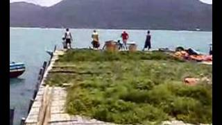 preview picture of video 'Serasan Seaweed Farm'