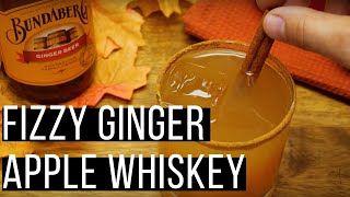 Fizzy Ginger Apple Whiskey | How To Recipe | Mixology