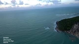 Xiaomi Mi Drone 4K filma Praia de Ponta Negra