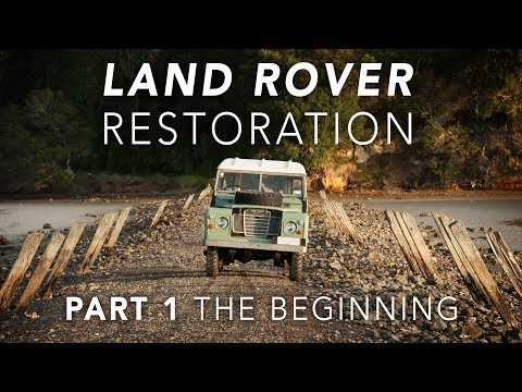 A kiwi restoring his 1978 Land Rover. Some narration (he's pretty funny though), this is the first video, more in comments.