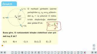 Eğitim Vadisi 11.Sınıf Fizik 17.Föy Elektriksel Alan Konu Anlatım Videoları