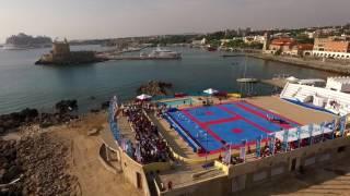 Watch the 1st World Taekwondo Beach Championships in Rhodes Island Greece