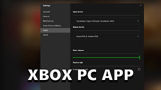 How to Setup Your Microphone in the Xbox PC App