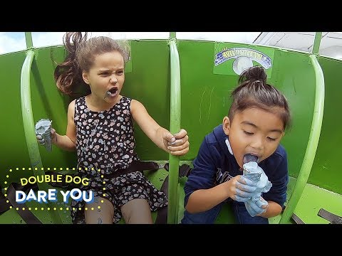 , title : 'Two Kids One Epic Dare | Double Dog Dare You | HiHo Kids