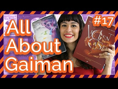 ALL ABOUT GAIMAN: #17# Violent Cases + Orquídea Negra | All About That Book |