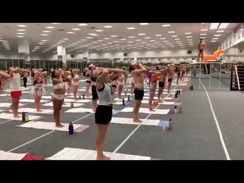 Bikram Yoga Halloween Class @ Teacher Training - YouTube