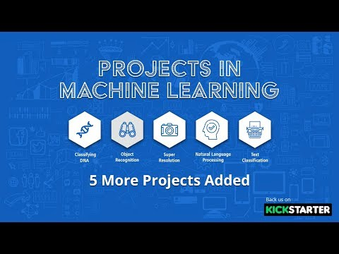 Projects in Machine Learning | We Added 5 More Projects | Eduonix