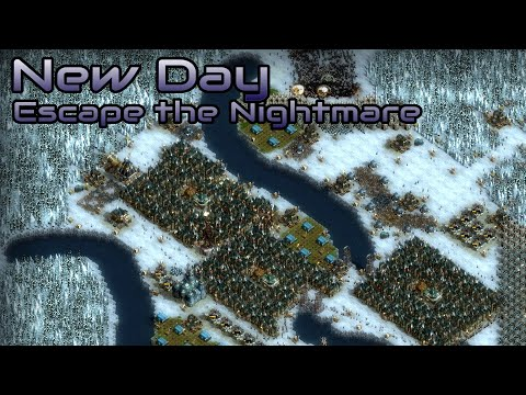They are Billions - New Day - Escape the Nightmare - Custom Map - No pause
