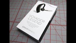 Plantronics Voyager Legend Unboxing 2018