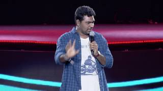 Zakir Khan @ YouTube FanFest India 2017