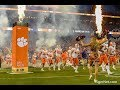 Clemson Tigers football game 2019