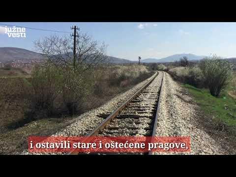 Stali radovi na rekonstrukciji pruge Niš - Zaječar