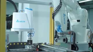 台達解決方案-【自動化】台達SCARA工業機器人