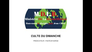 CULTE DU DIMANCHE 01 08 2021 – PRODUIRE DE LA QUALITÉ PAR L' ESPRIT – P2 – PASTEUR SERGE – EXHORTATION TV