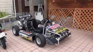 ゴーゴーゴー 激走Xカート野郎  公道を走れるナンバー付きゴーカートX-kart OMG大阪松原ゴーカート ミニカー Standard Motor Corp