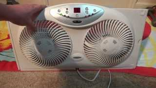 Bionaire window fan (unboxing and quick review)