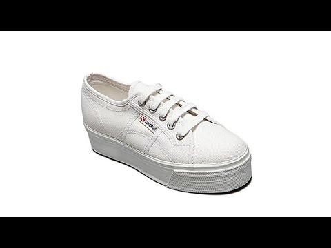 Superga Double Stack LaceUp Sneaker