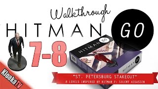 Hitman GO - Level 7-8 Walkthrough