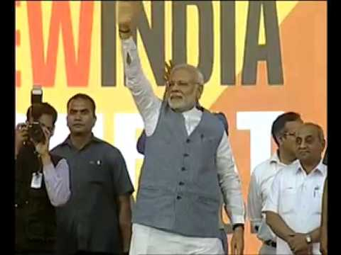 PM Modi flags off