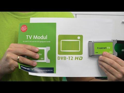 CI+ Modul für freenet TV / DVB-T2 HD (private HD Sender über Antenne)