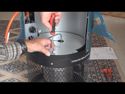 Gas-Terrassenheizer Polo 2.0 von der Fa. Enders  (Zusammenbau) in 4K von tubehorst1