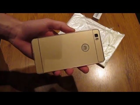Thin PC Phone Cover Case with Metal Frame for HUAWEI P8 LITE - GOLDEN from GearBest