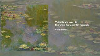 Violin Sonata in A major