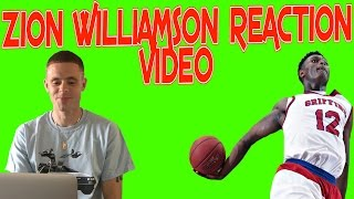 Professor reacts to Zion Williamson