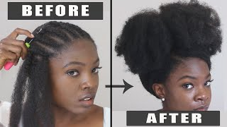 YOU WONT BELIEVE THIS! MOST NATURAL CROCHET EVER! NO LEAVE OUT! Detailed Crochet Hair Tutorial