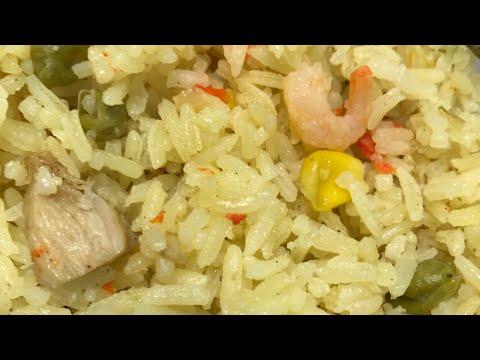 Fried Rice ONE POT METHOD | Quick Fried Rice Recipe|Abena'sKitchen